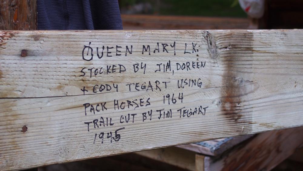 Erämaaelämää Queen Mary