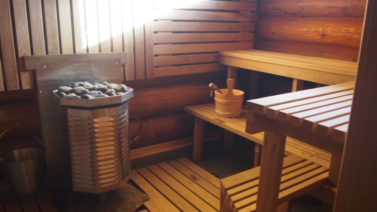 Mount Assiniboine sauna