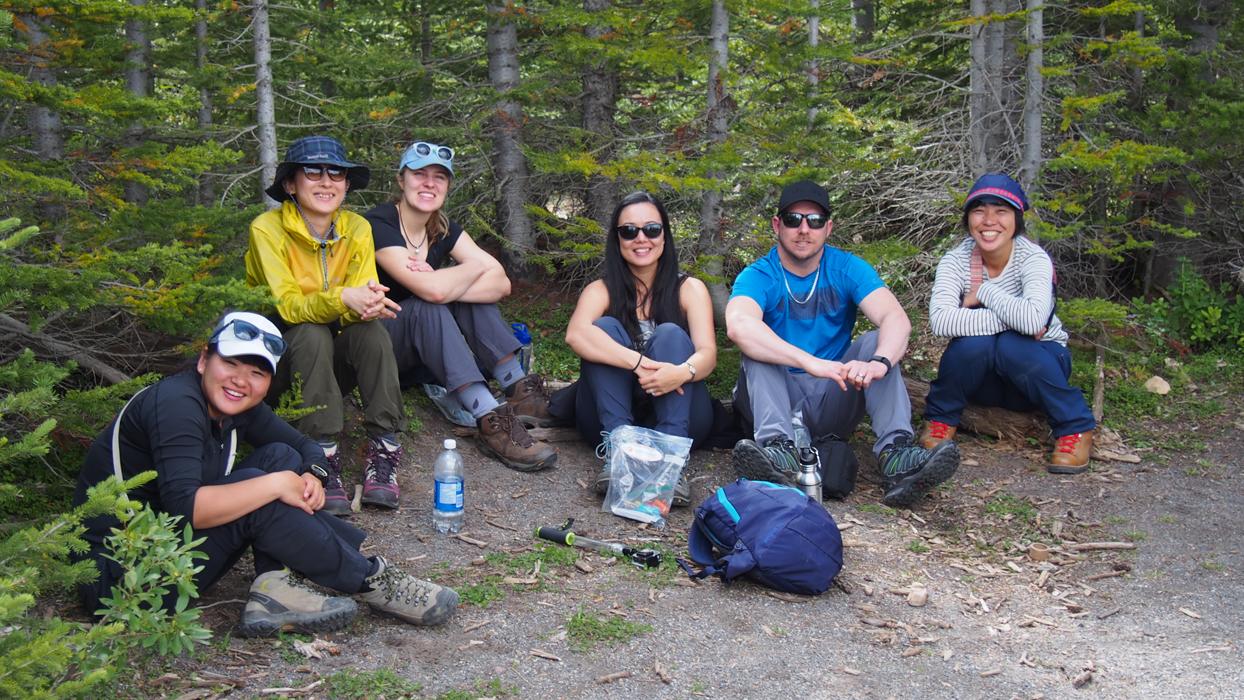 Mount Assiniboine ryhmä