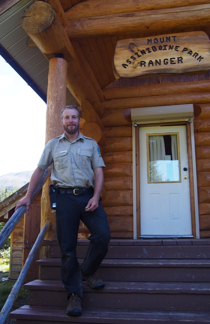 Lake Magog park ranger