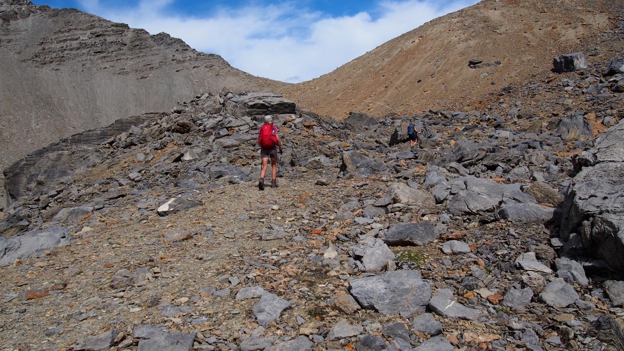 Mount Niles sola näkyy