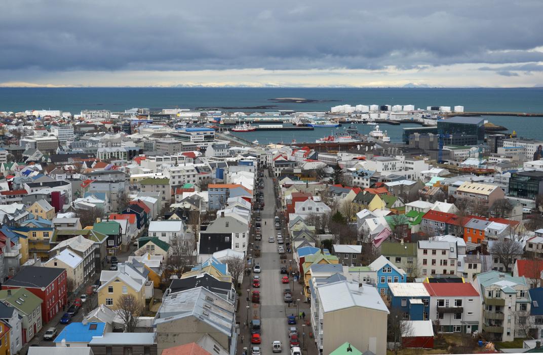 reykjavik sää huhtikuu