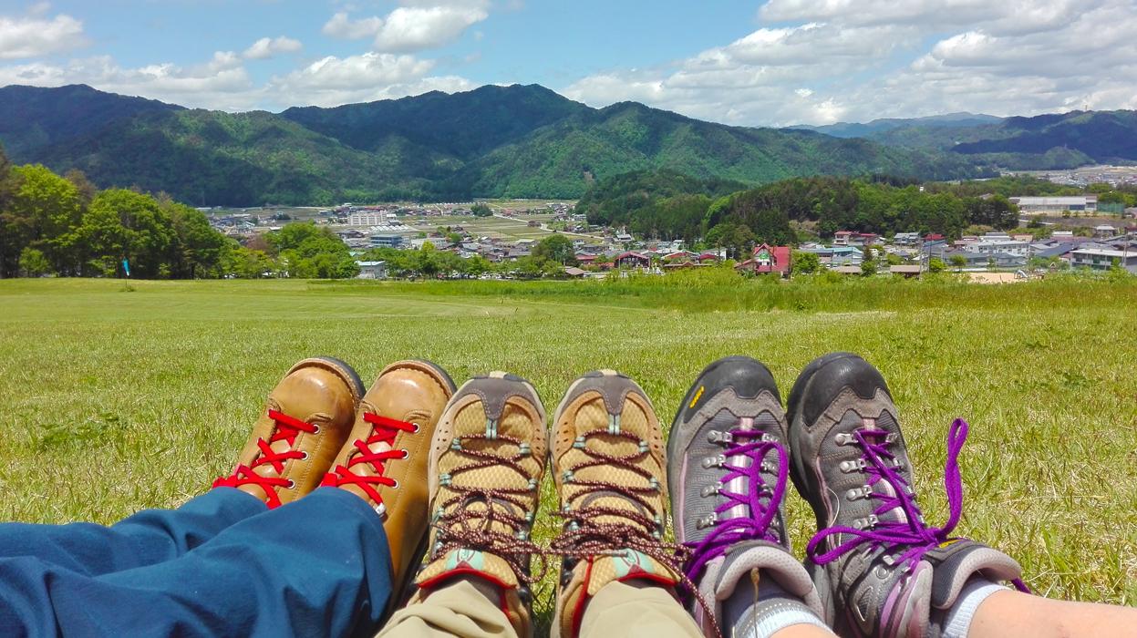 Hida-Takayama niityllä