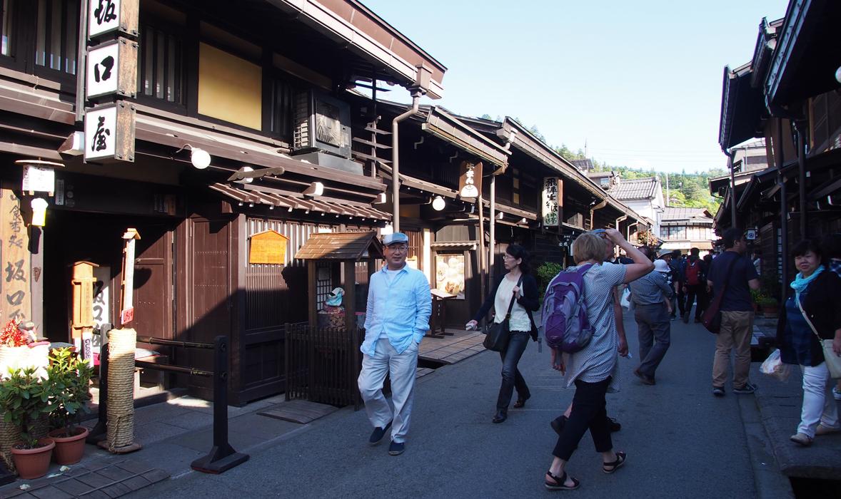 Hida-Takayama keskusta