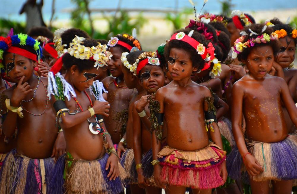 Tyynenmeren saaret. Kitava, Trobriand-saaret.