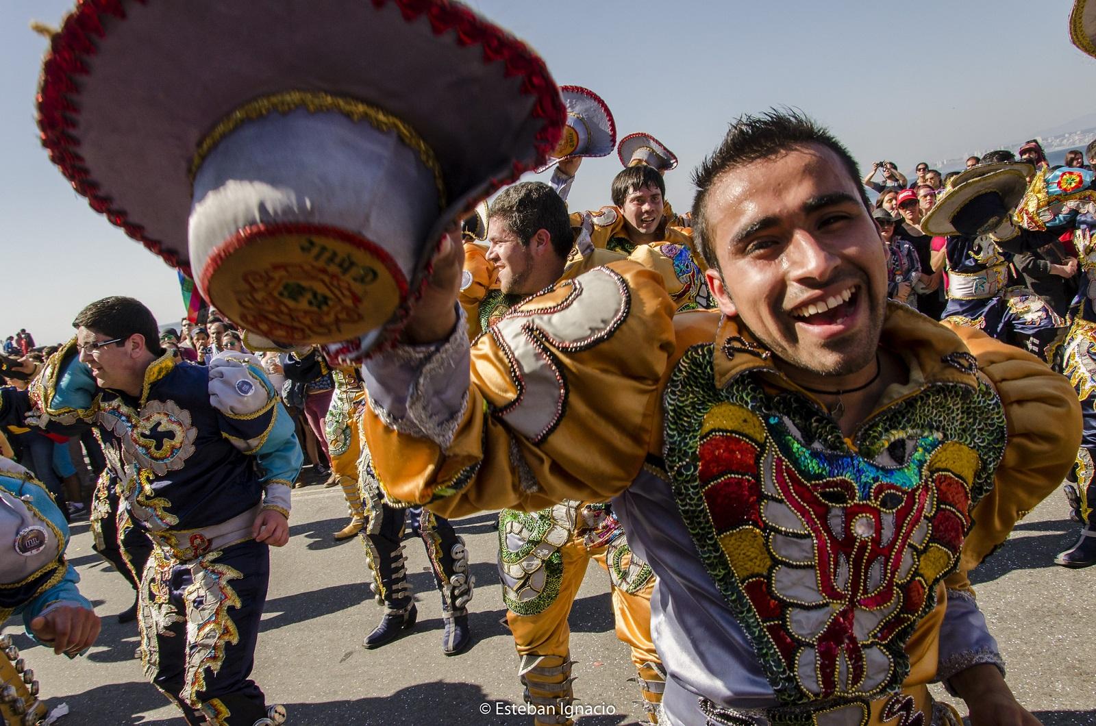 Chile, Valparaison karnevaalit. Kuva: Flickr/Esteban Ignacio.