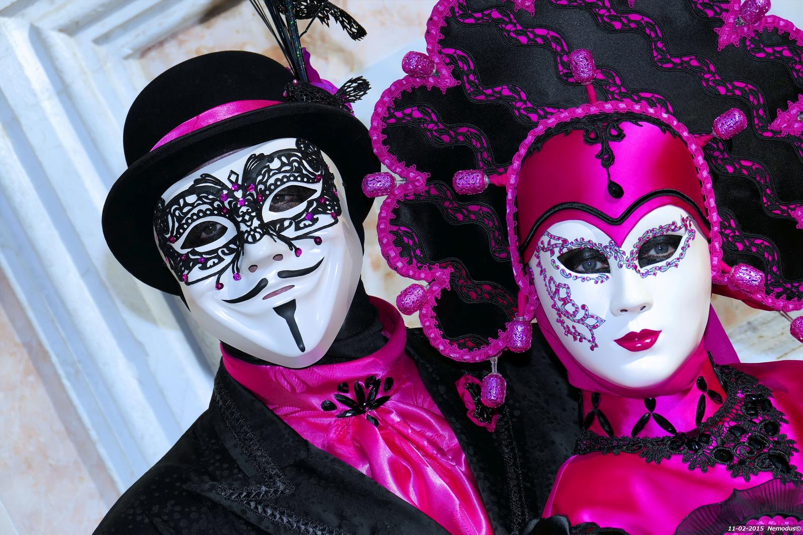 Italia, Venetsian karnevaalit. Kuva: Flickr/Nemodus photos.