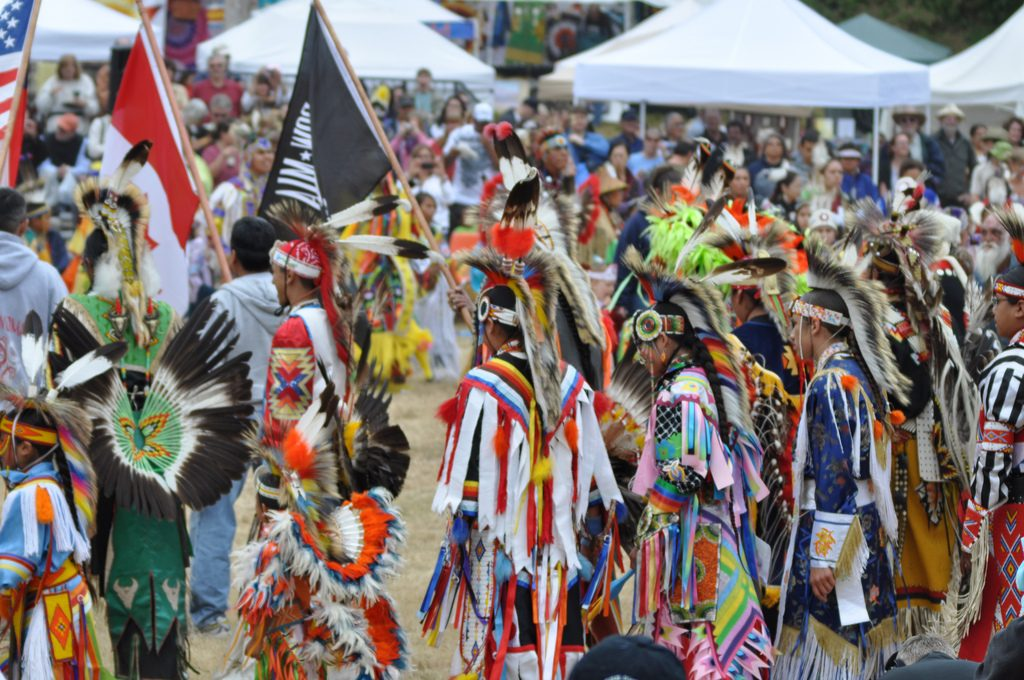 Pow wow. Kuva: Flickr/Joe Mabel.