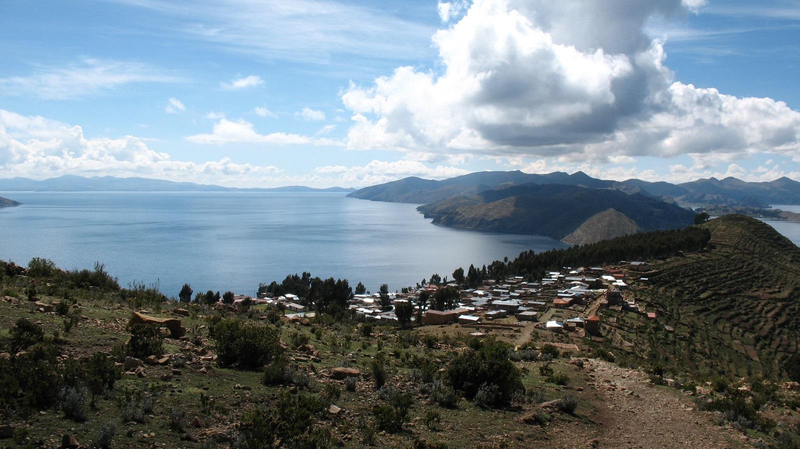 Bolivia, Isla del Sol, Yumanin kylä