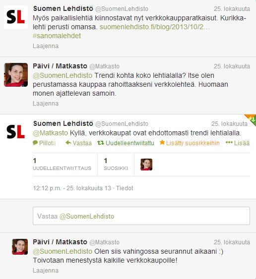 Twitter-keskustelu