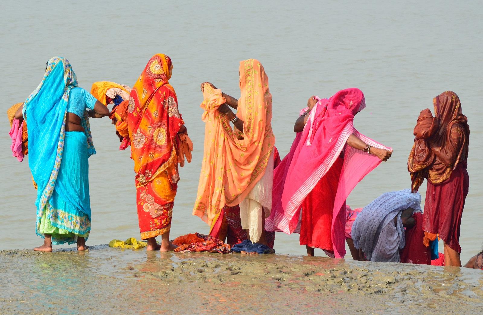 Sari on Intiasssa koko kansan vaate