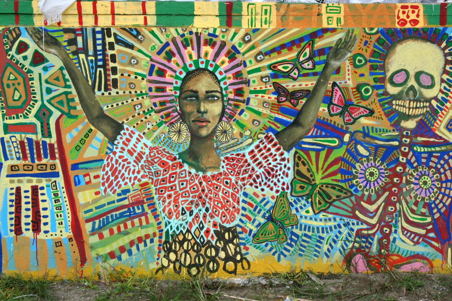Seinämaalaus Livingstonissa. Kuva: Flickr/Gerrigje Engelen