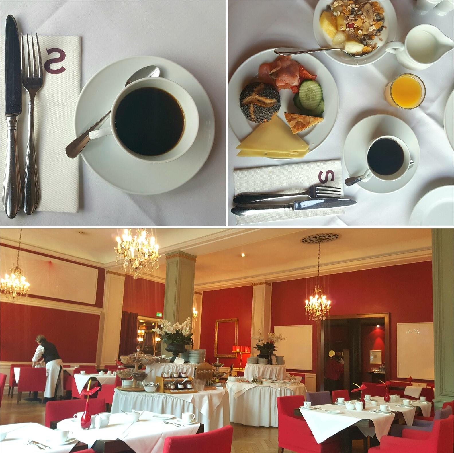 Aamiainen Savoy Hotelissa. Kuva: © Paula Hotti.