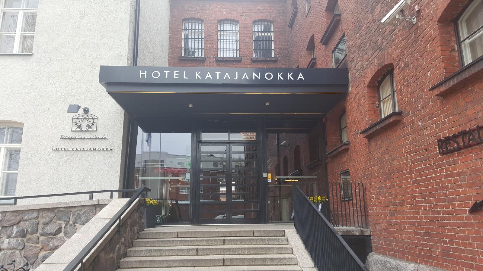 Hotel Katajanokka - sisäänkäynti