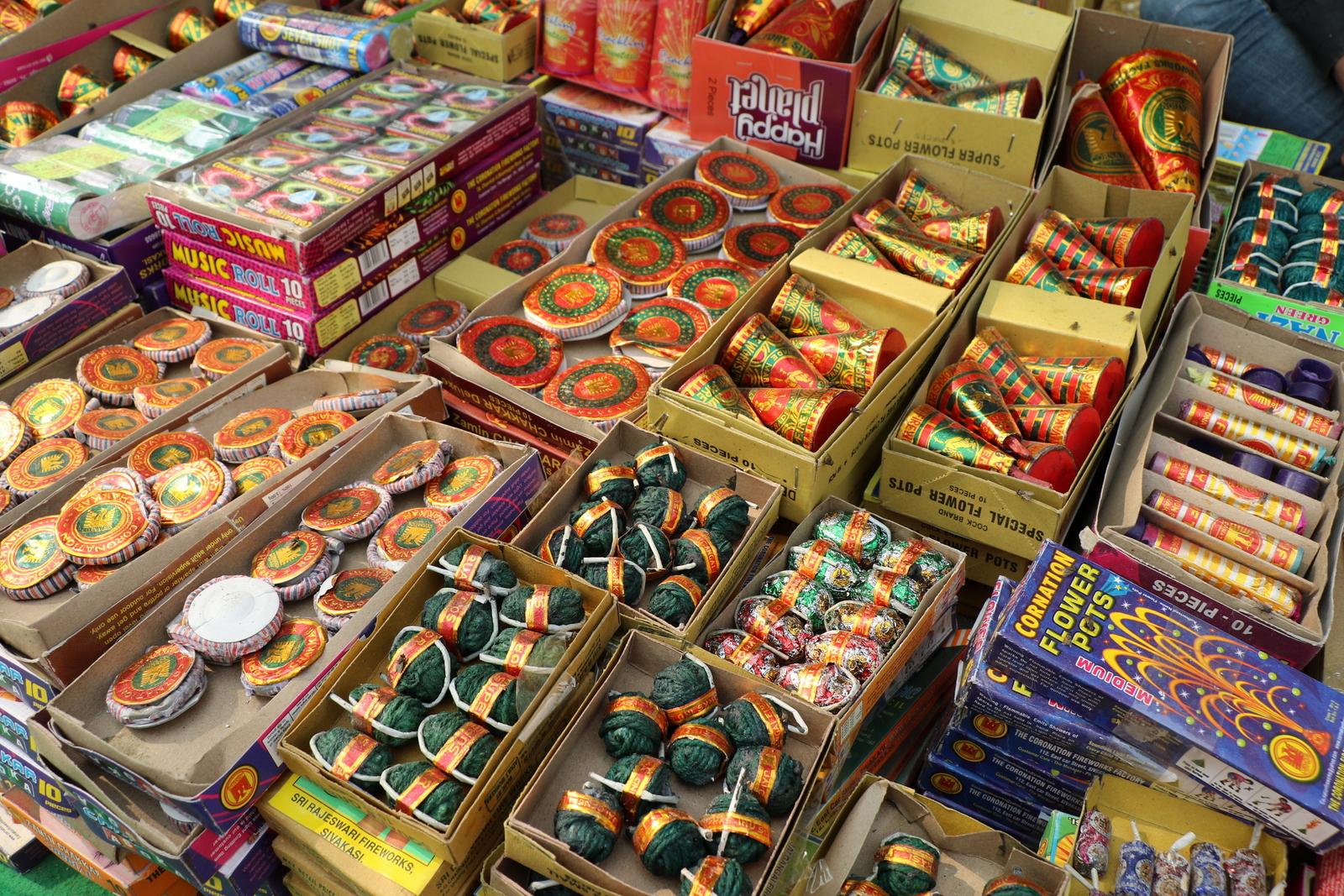 Diwali ilotulitteita