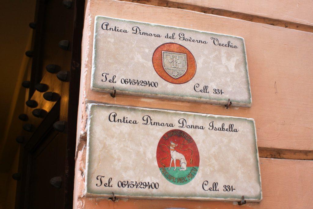 Antica Dimora Donna Isabella, Rooma