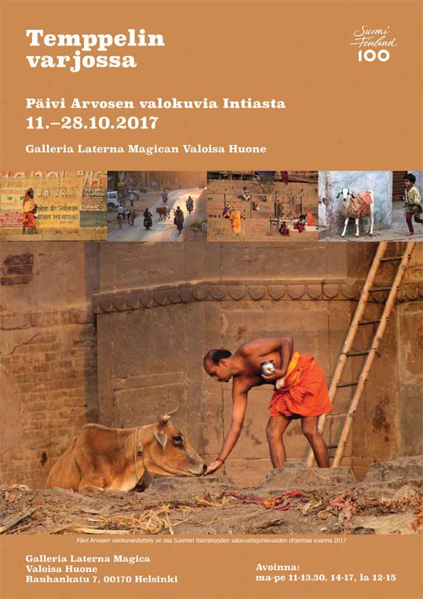 Temppelin varjossa - valokuvia Intiasta