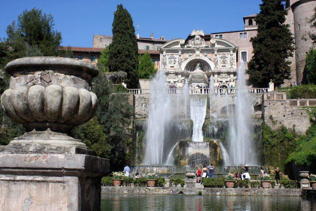 Villa d'Este, Fontana di Nettuno.