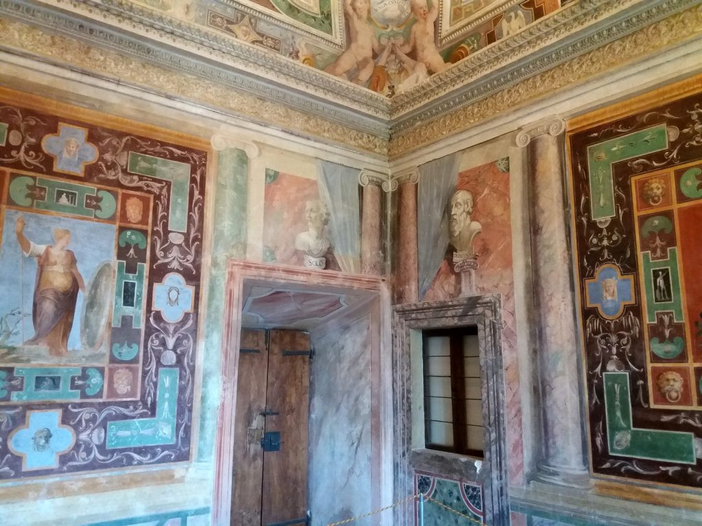 Villa d'Este, freskoja.