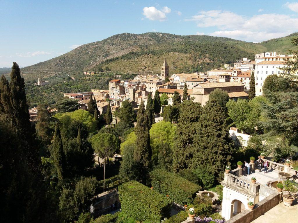 Villa d'Este, näkymä.