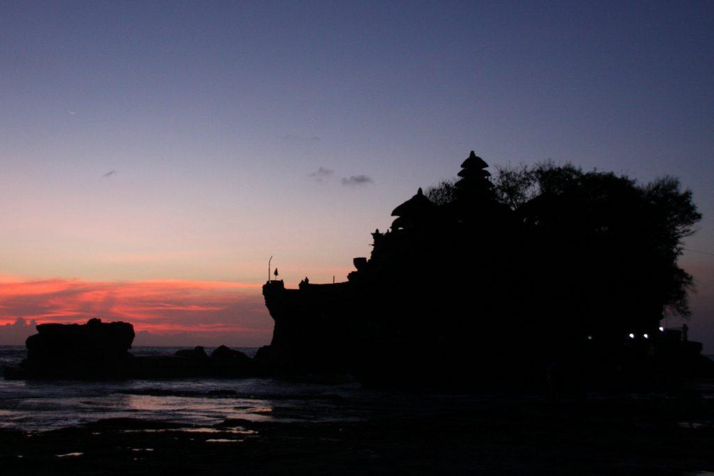 Balin nähtävyydet - Tanah Lot