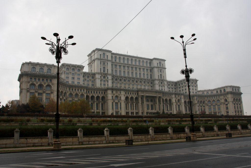 Romania, Bukarest - Parlamenttipalatsi