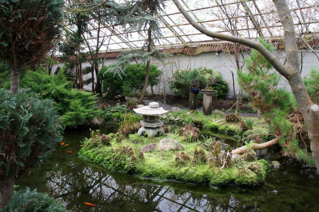 Japanilainen puutarha Vantaalla