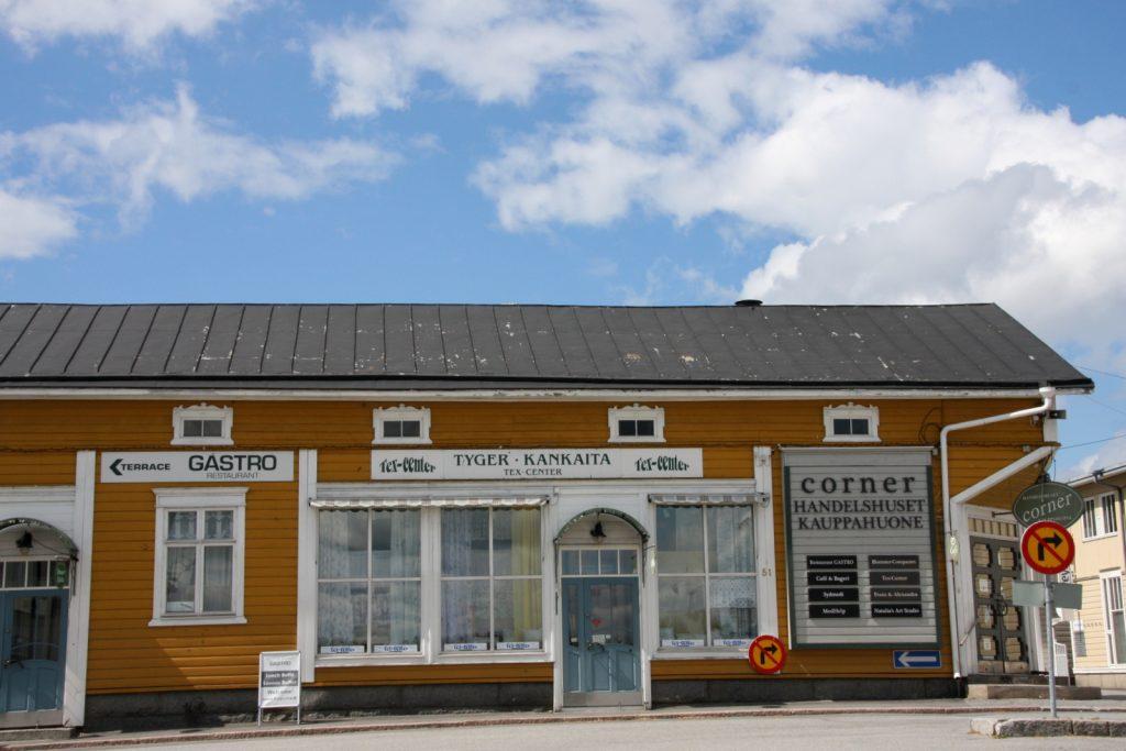 Kristiinankaupunki, Kauppahuone Corner