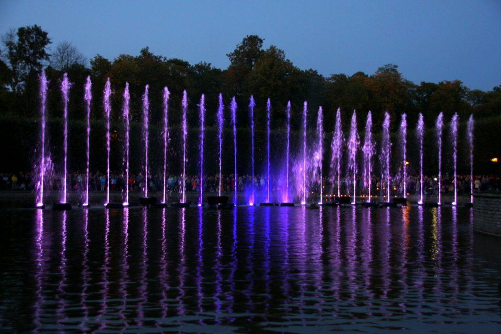 Vaeltavat valot (Valo kulkee), Kadriorgin puisto, Tallinna