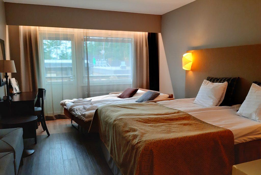 Spa Hotel Runni, kylpylähotellin huone