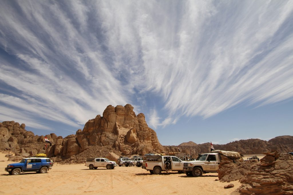 Pilvet, Egyptin Läntinen aavikko