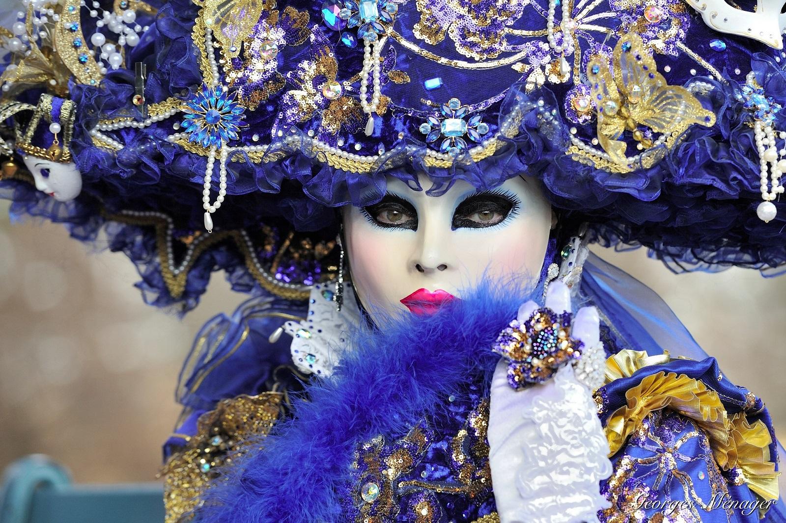 Italia, Venetsian karnevaalit. Kuva: Flickr/Georges Ménager.