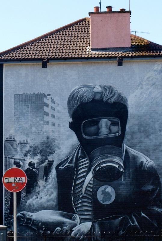 Muraali, Londonderry.