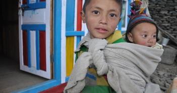 Nämä tamang-veljekset asuvat Langtangin alueella.