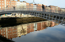 Ha´penny Bridge, Dublin.