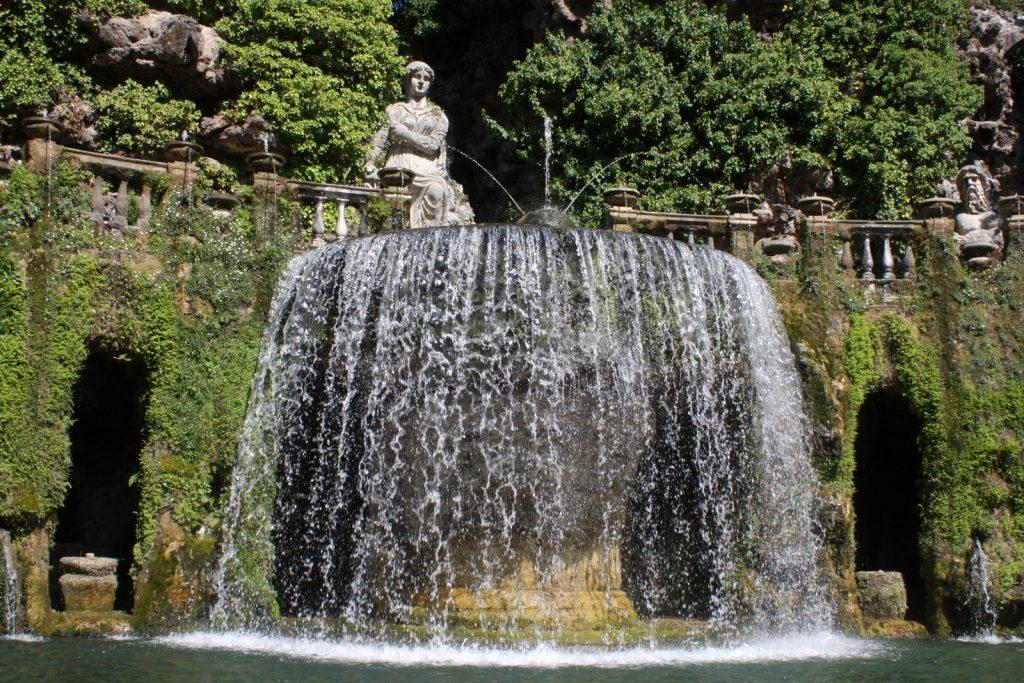 Villa d'Este, Fontana dell'Ovato.