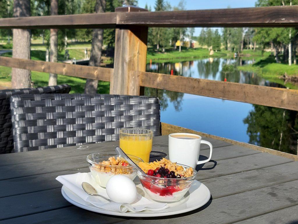 Spa Hotel Runni, Runnin kylpylä, aamiainen