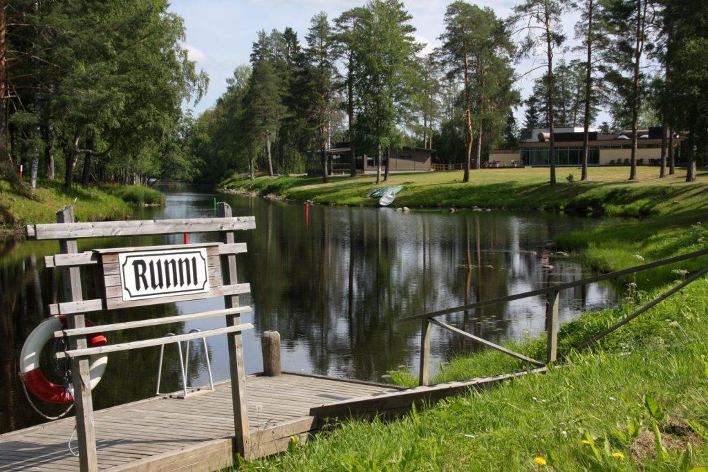 Runnin kypylä - Spa Hotel Runni, venelaituri
