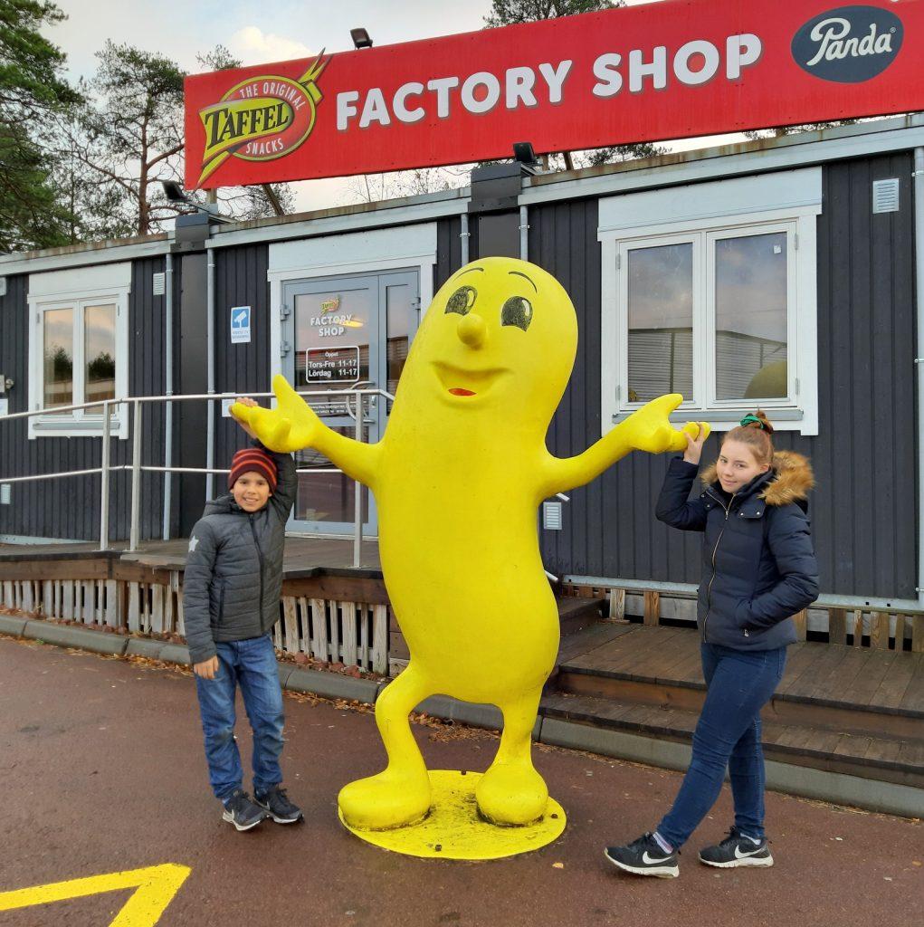 Ahvenanmaa, Taffel Factory Shop