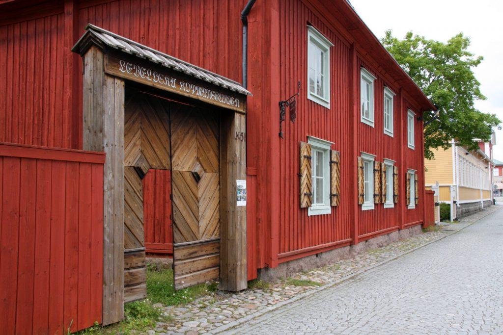Lebellin kauppiaantalon portti, Kristiinankaupunki