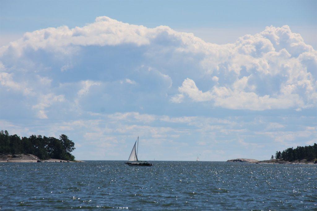 Pentala, merinäkymä